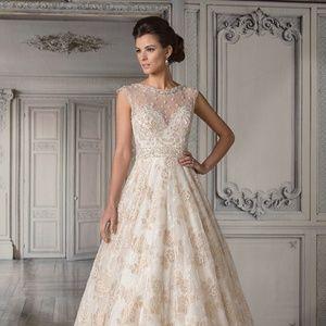 NEW JASMINE COLLECTION WEDDING DRESS WITH TAS